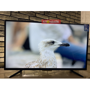 Телевизор Yuno ULX-39TCS221 - 100 сантиметров, полноценный Smart с Wi-Fi, настроен под ключ в Старом Крыму фото